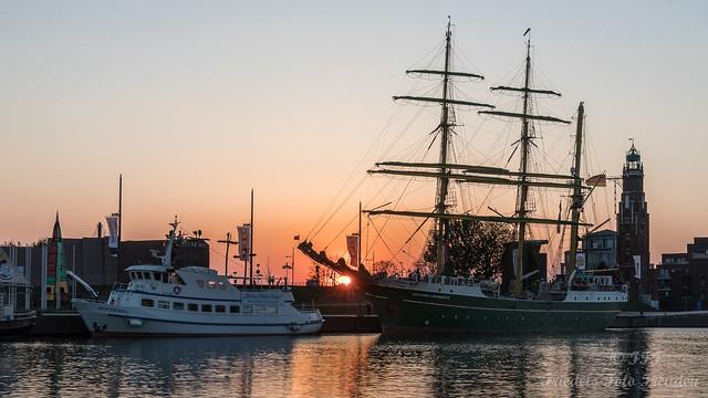 Alex II im Neuen Hafen von Bremerhaven