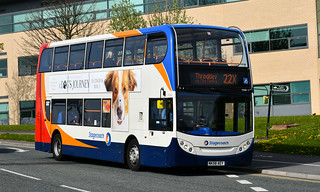 Stagecoach North East: 19384 / NK58AEY
