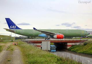 F-WWCE Airbus A330 SAS | by @Eurospot