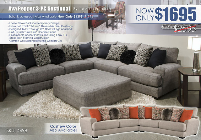 Ava Pepper 3-PC Sectional 4498_updateNEW