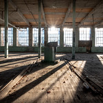 Abandoned Silk Mill