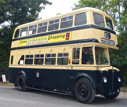 JOJ 548 'Birmingham City Transport' No. 2548. Guy Arab / Metro Cammell on Dennis Basford's railsroadsrunways.blogspot.co.uk'
