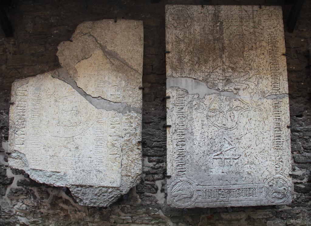 Tombstones, St. Catherine's Passage, Tallinn