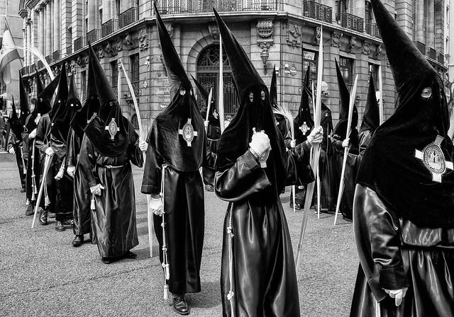 Semana Santa hoodies procession / Bilbao 2019