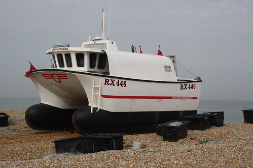 Fishing Boat RX446 KINGFISHER