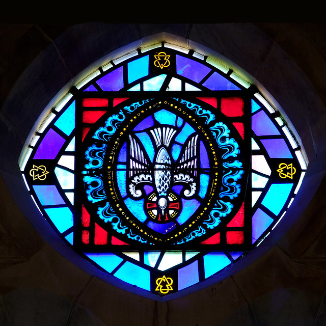 Stained Glass at St. Ann