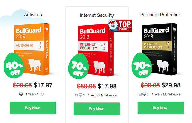 75% Off bullguard coupon code 2019, bullguard discount & deals