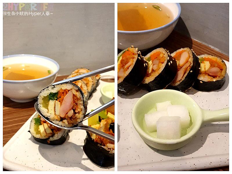 47627876811 4a9fa2e400 c - 中友百貨旁平價韓式料理~KBAB 大叔的飯卷 | 小小店面總是塞滿人,想吃飯卷是不錯的選擇哦!