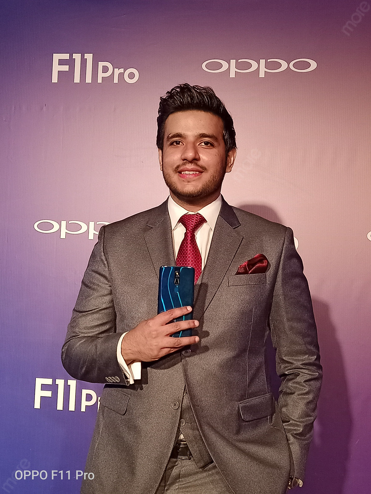 Ali Kakvi, Marketing Director Oppo Pakistan at the Launch of Oppo F11 Pro
