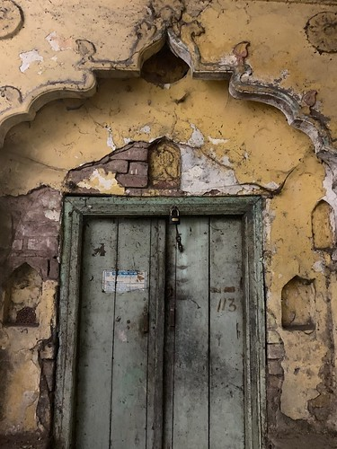 City Landmark - A Disappearing Doorway, Hazrat Nizamuddin Basti