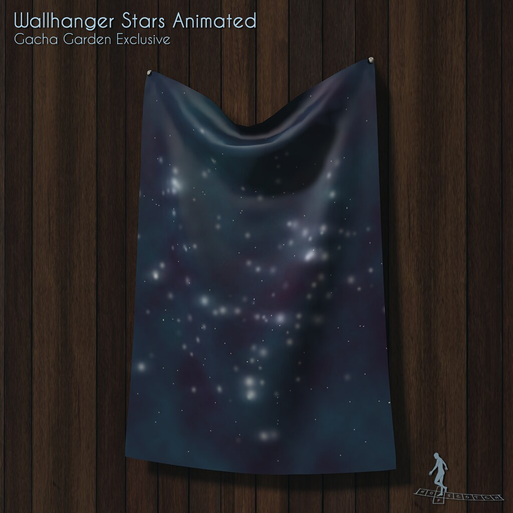 Wallhanger Stars Animated Exclusive - TeleportHub.com Live!