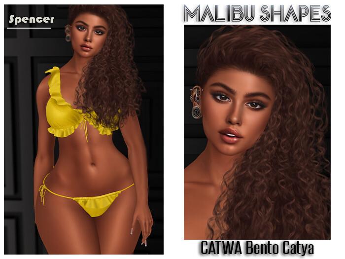 Malibu Shape – Spencer – CATWA Bento Catya
