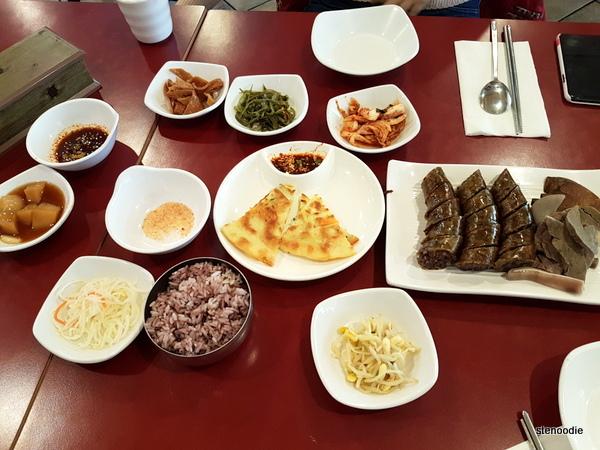 Lim Ga Ne food on the table