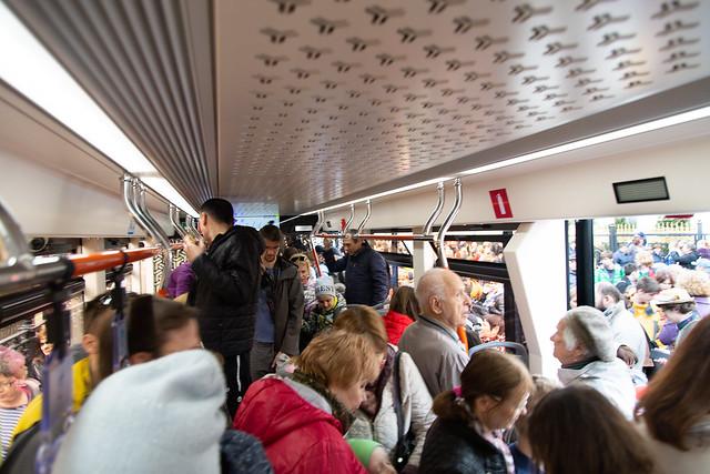 Tram parade