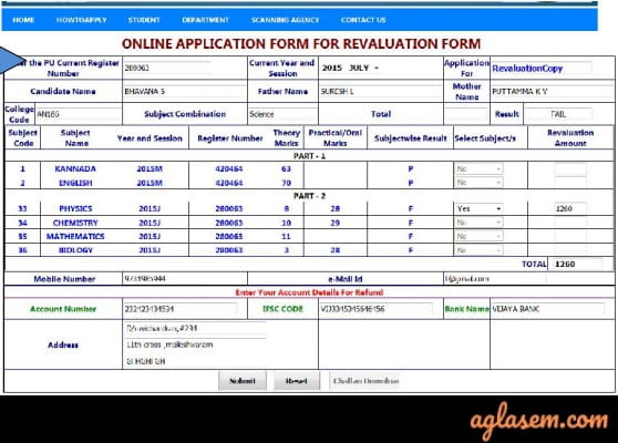 Karnataka 2nd PUC Revaluation/ Re-totaling 2019 Result, Form, Date (Available)
