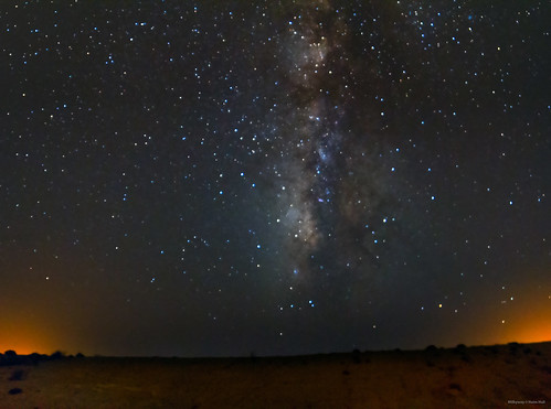 Milkyway at the Negev