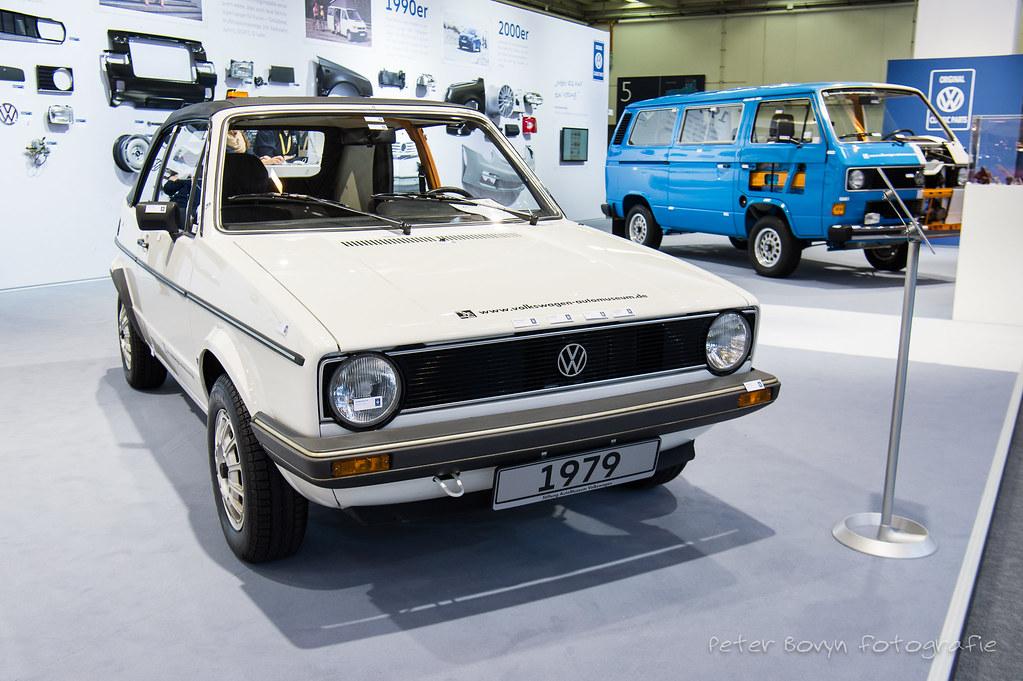 Volkswagen Golf 1 Cabriolet Schnittmodell - 1978