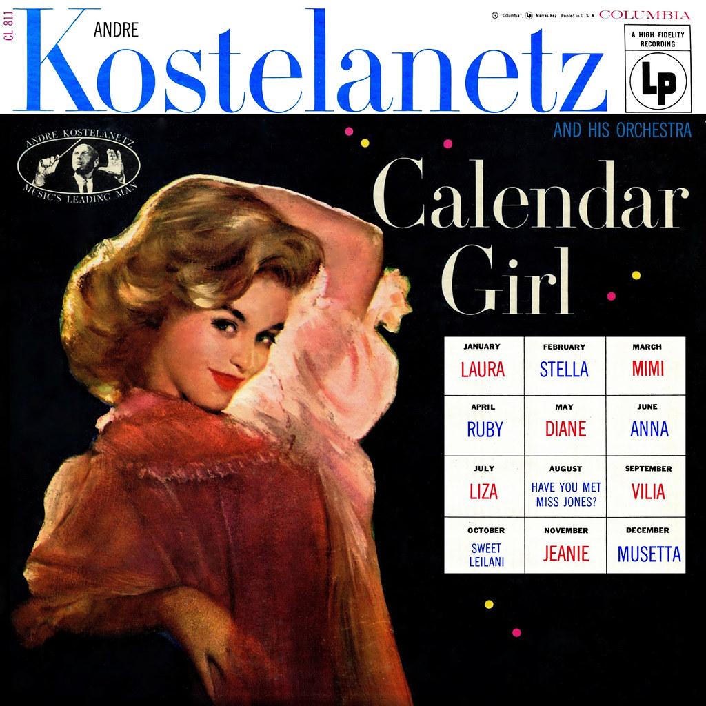 André Kostelanetz - Calendar Girl