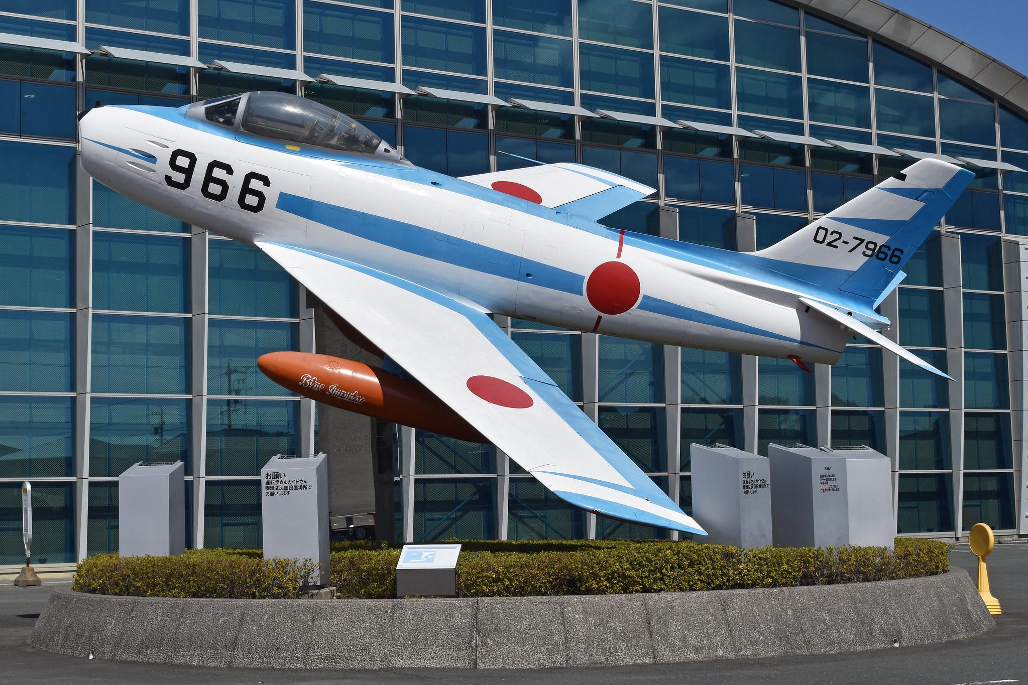 North American F-86F Sabre '02-7966 / 966'
