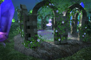 Moonlight shines on the Forgotten Archway