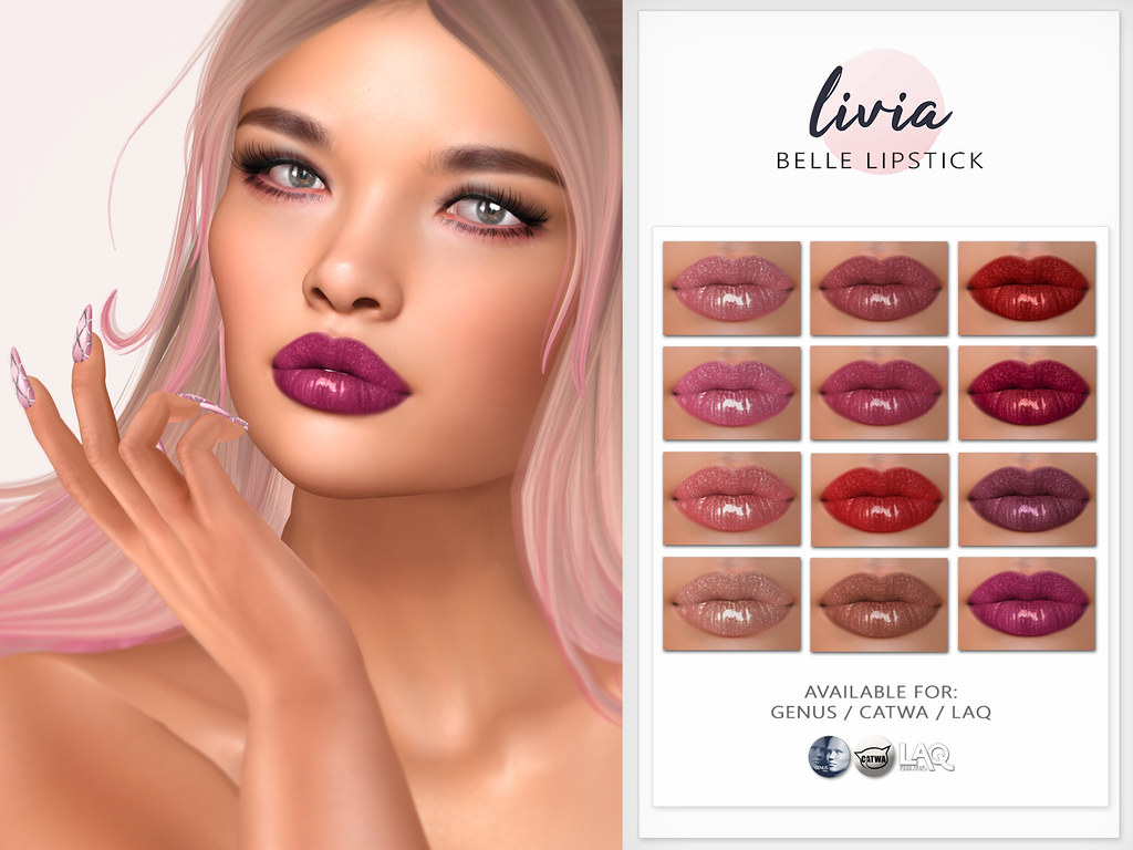 LIVIA // Belle Lipstick (The Trunk Show)
