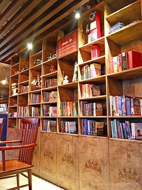 Downtown Cafe - Mini Library