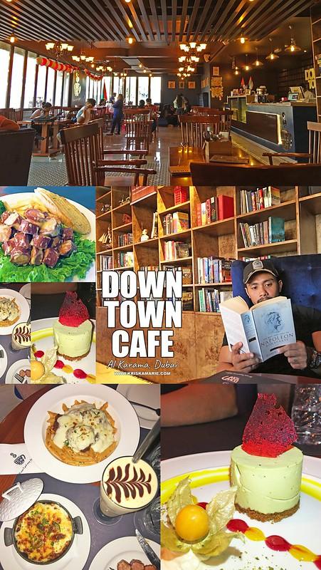 Downtown Cafe in Al Karama, Dubai