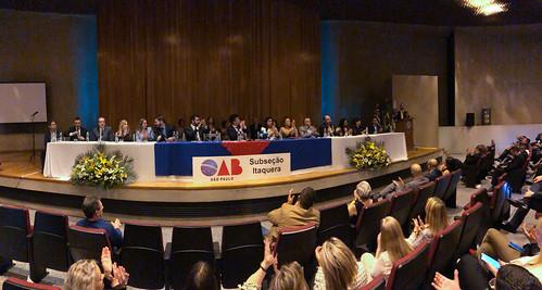11.04.2019 - Posse da Subseção OAB Itaquera - Gestão 2019/2021