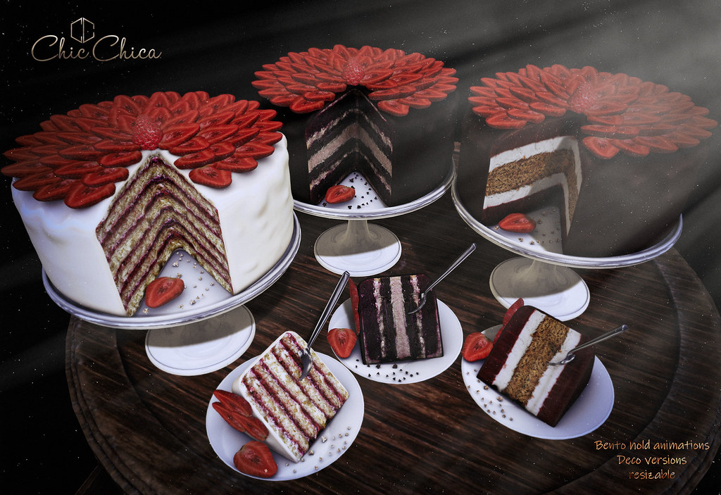 Strawberry  Cake by ChicChica @ Tres Chic