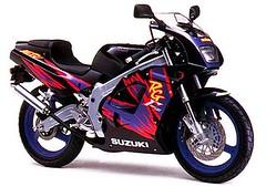 Suzuki RG 125 F Gamma 1996 - 2