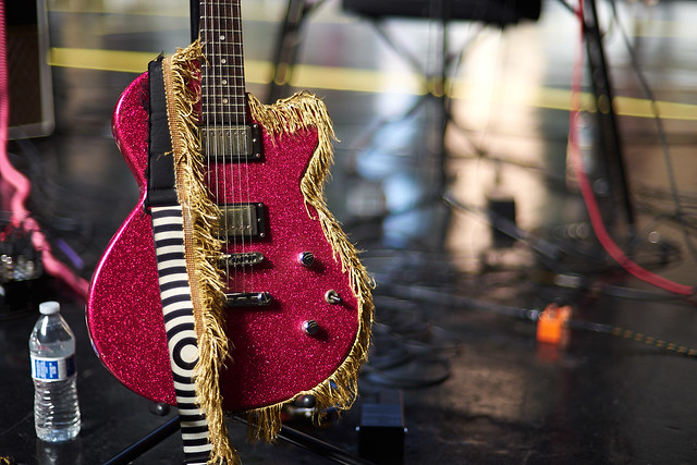 guitar with all the sparkles