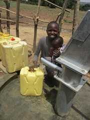 Thank you for this gift of life-saving water!