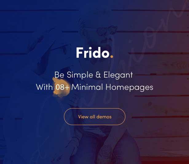 Leo Frido – Minimal & Clean Fashion E-Commerce Prestashop Theme