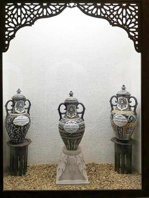 Tozeur vasijas ceramica Museo Dar Cherait Etnografico Tunez 03