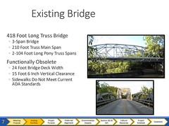 Cherokee Bridge Info