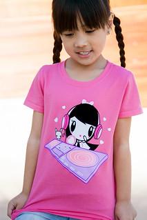 """DJ Lolligag & Mixmaster Moot"" Kids T-shirt"