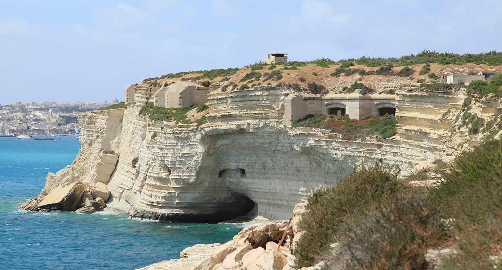 Bezienswaardigheden Malta: Fort Delimara