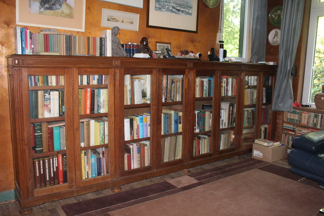 My mum's living room: the book case