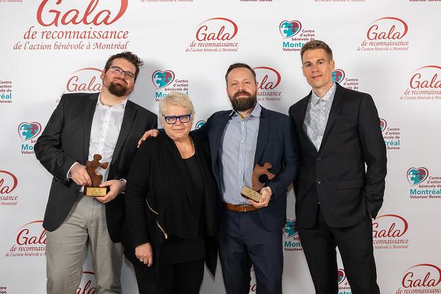 2e Gala de reconnaissance de l'action bénévole à Montréal
