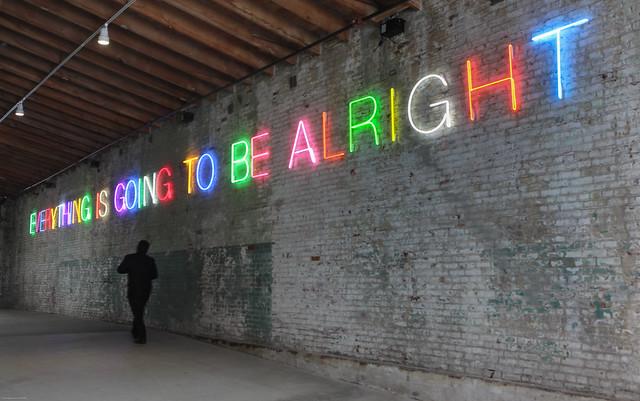 neon optimism