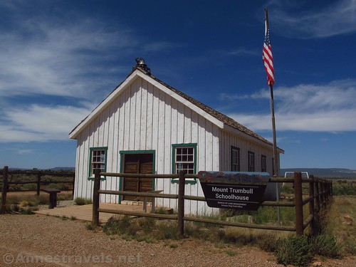 The Mount Trumbull Schoolhouse in Grand Canyon-Parashant National Monument, Arizona