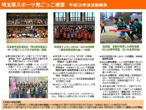 190307【PPT】2018埼玉県スポーツ鬼ごっこ連盟活動報告(金子)※ブログ用