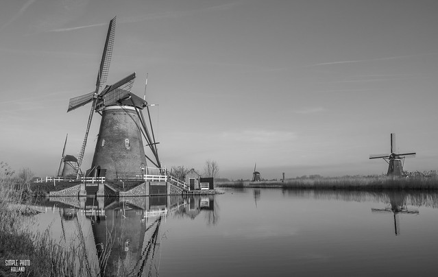 Dutch Windmills at Kinderdijk III