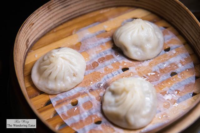 Chef Justin's Signature Foie Gras Xiao Long Bao 招牌鸭肝小笼包