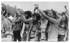 American University students strike against the war: 1970