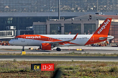 G-UZHW Airbus A.320-251N easyJet AGP 02-04-19