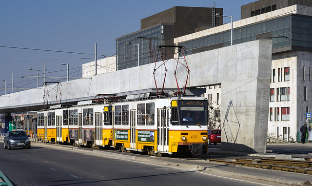 Budapest tramway: Tatra T5C5 # 4093
