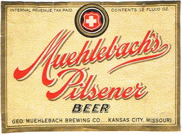 Muehlebach-Pilsener-Beer-Labels-Geo-Muehlebach-Brewing-Co