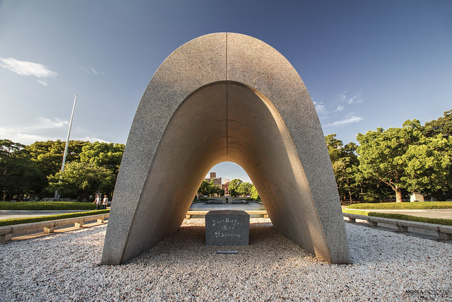 Hiroshima Victims Memorial Cenotaph (Japan)