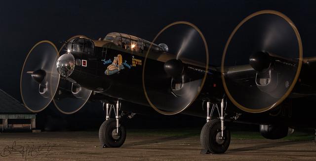Lincolnshire Aviation Heritage Centre Avro Lancaster B.VII G-ASXX NX611-34